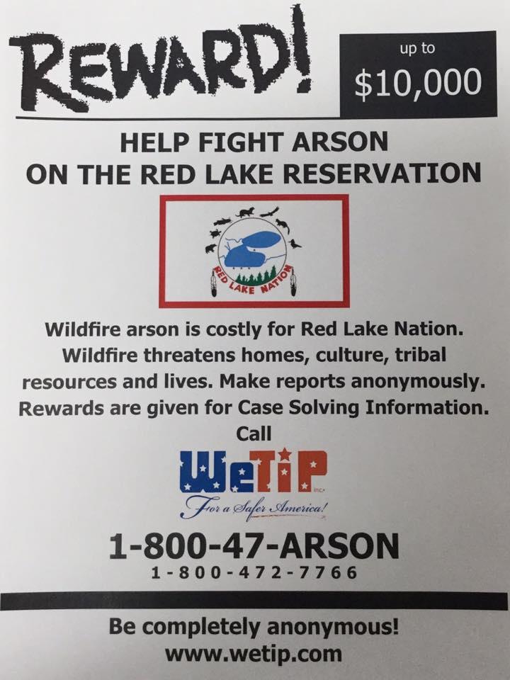 Help Fight Arson